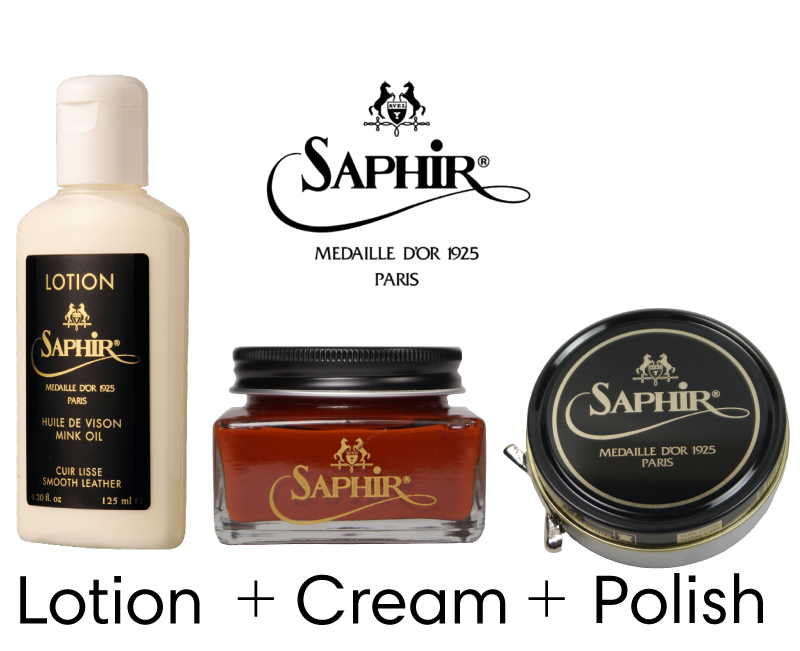 0865c8fa3fe0 Starter Set Lotion Saphir Medaille d Or - Shoe Shine Shop