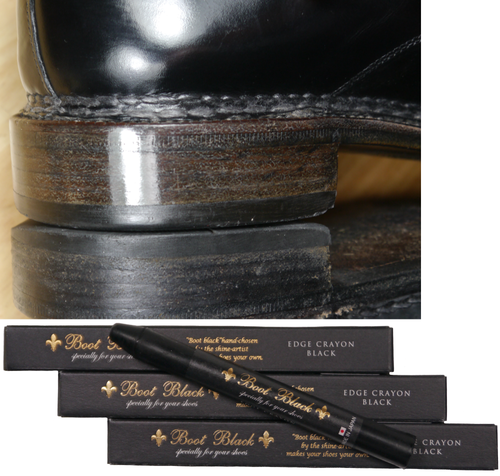 Boot Black Edge Crayon - Sohlenrandwachs