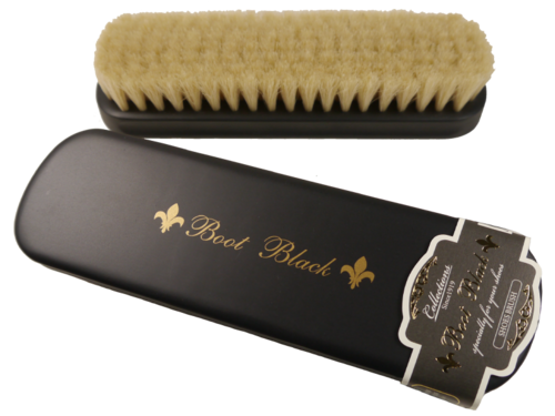 Boot Black X EDOYA  Horse Hair brush - Polierbürste