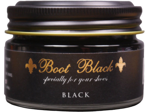 Boot Black Shoe Cream - Schuhcreme